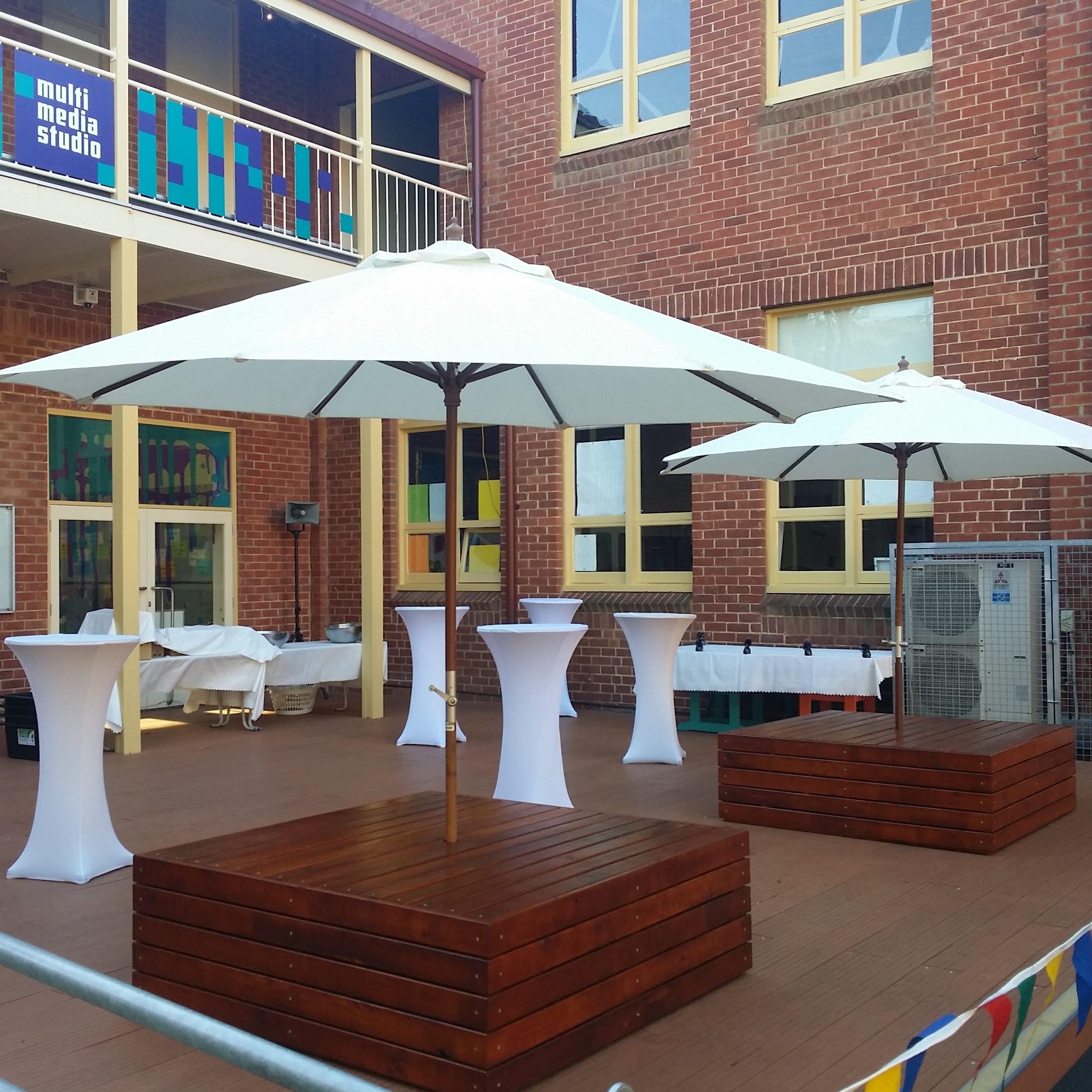 Plaza Pods SPW school event