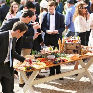 Wedding Hire Adelaide harvest tables grazing table