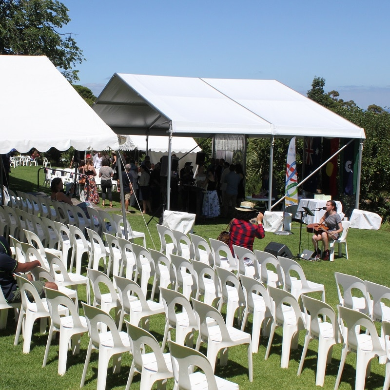 Australia Day marquee