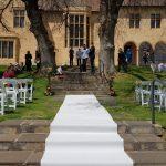 Wedding Hire Adelaide Carrick Hill carpet runner