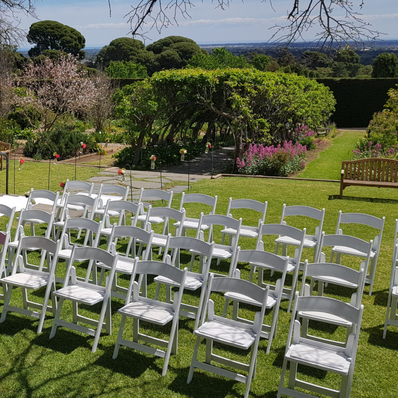 Wedding Hire Adelaide Carrick Hill