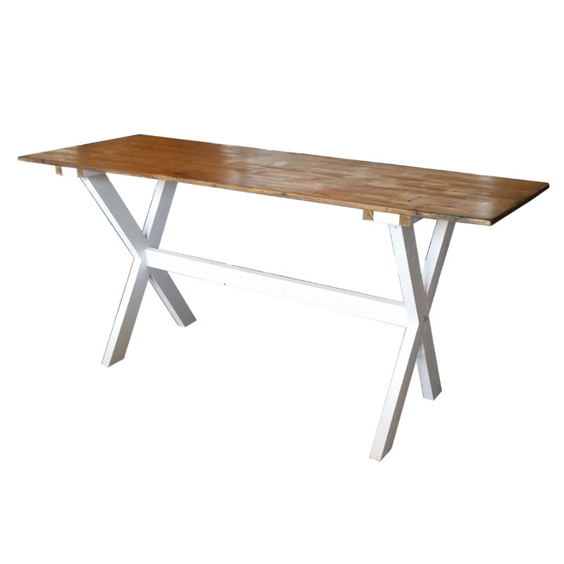 Harvest leg high bar table for hire in adelaide