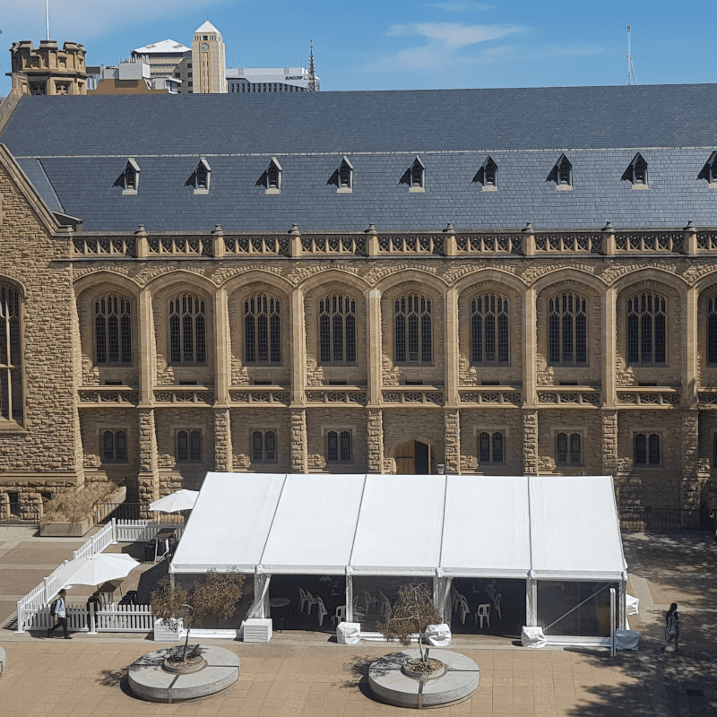 Pavilion Hire Adelaide University