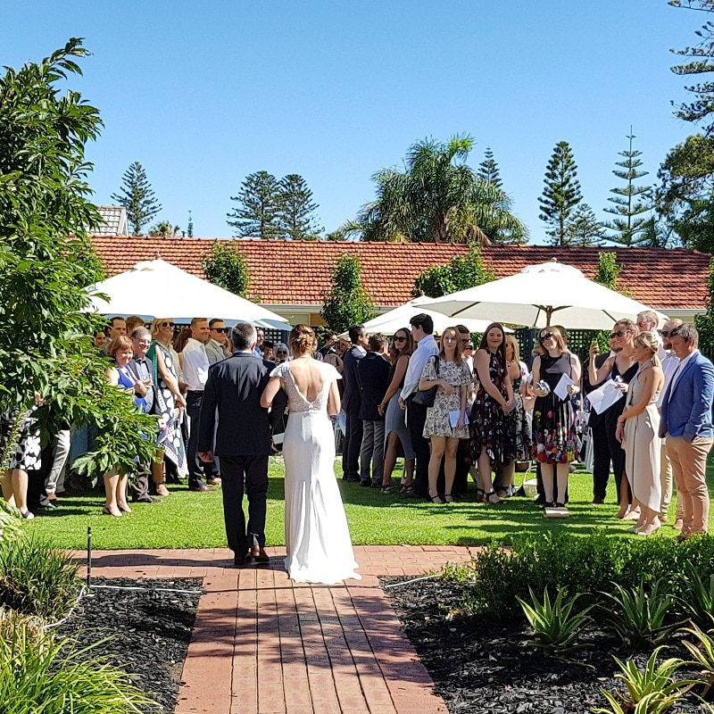 Wedding Hire Adelaide Partridge House wedding
