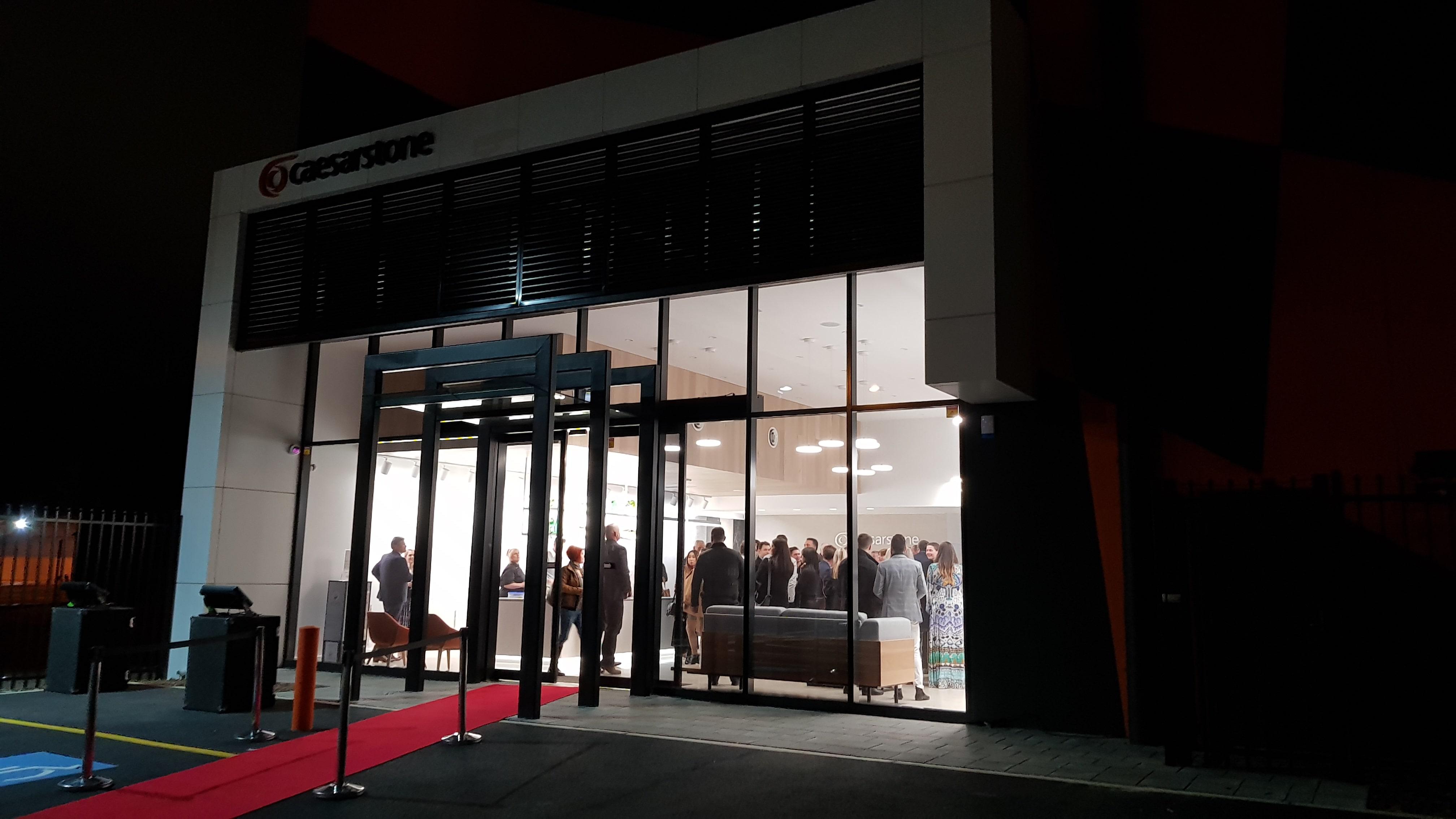 Caesarstone showroom launch