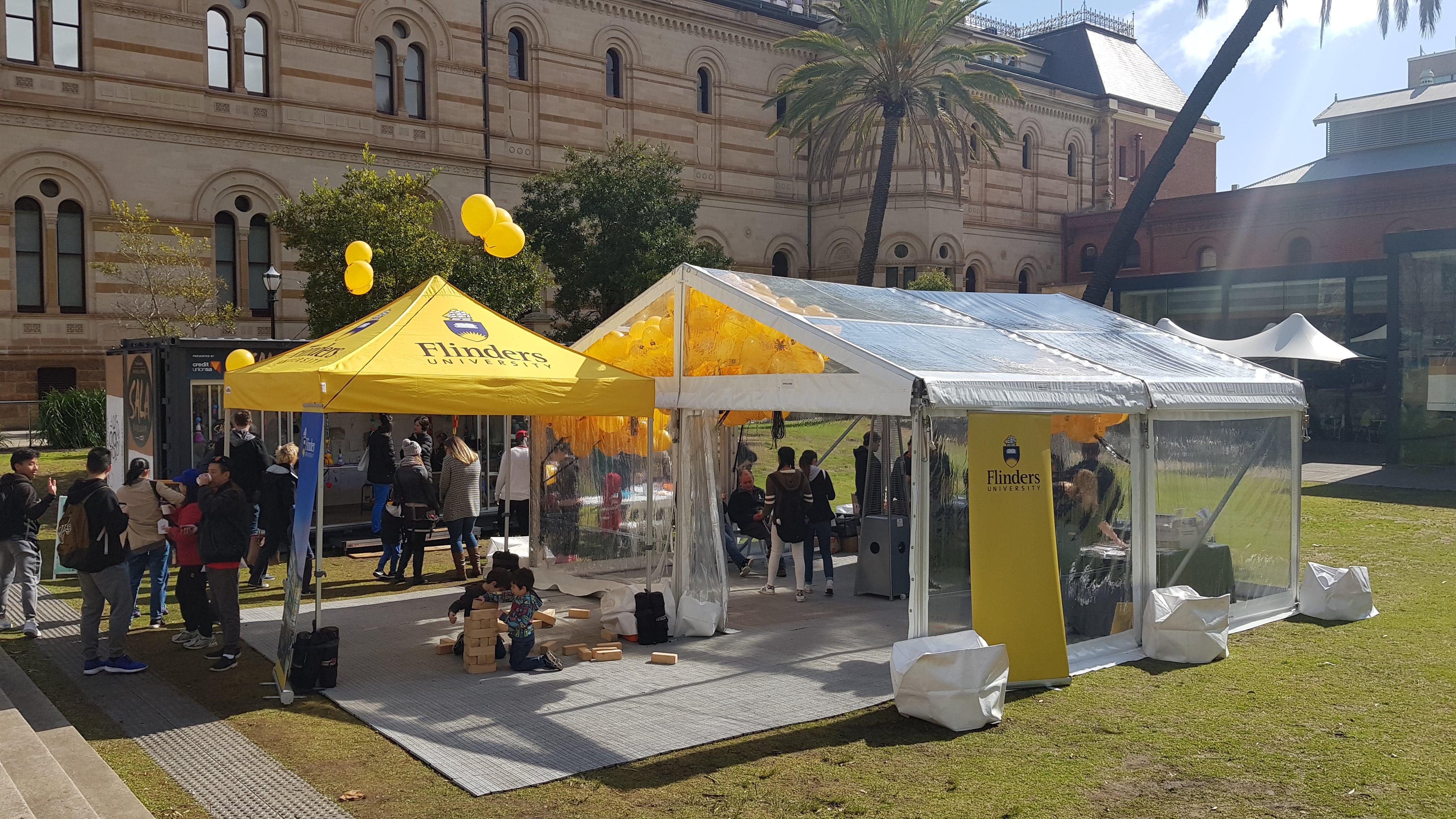 Flinders Uni Open Day