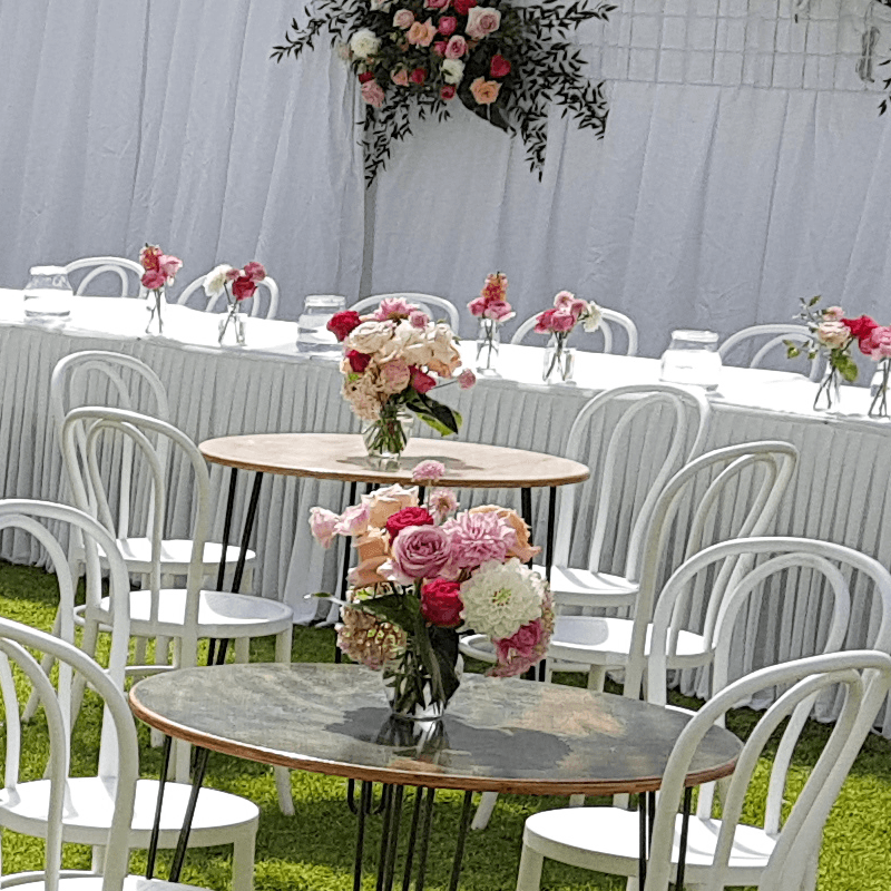 Furniture Hire Adelaide bridal table