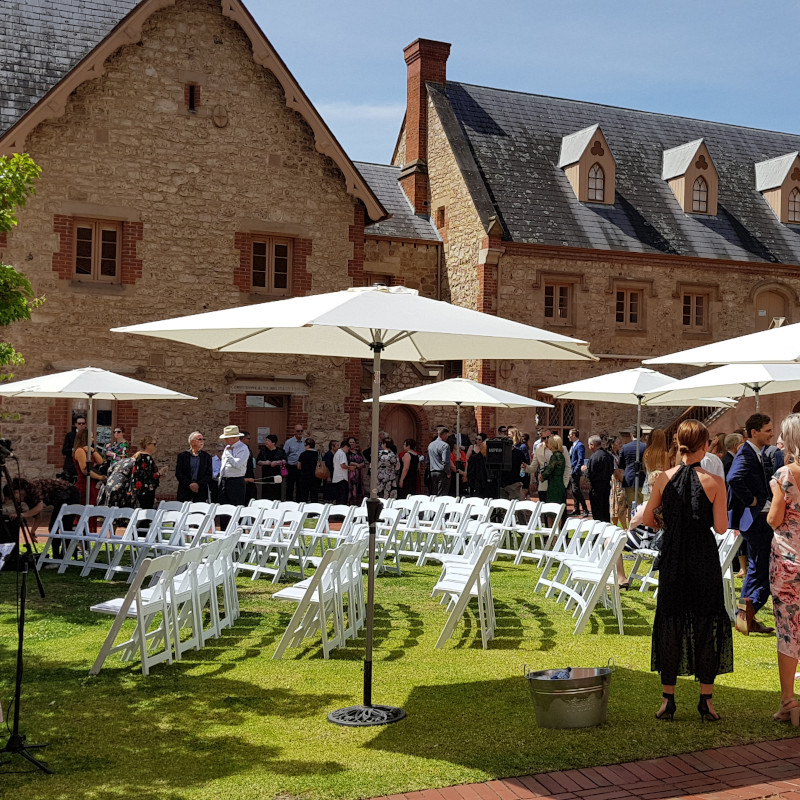 Furniture Hire Adelaide ceremony chairs