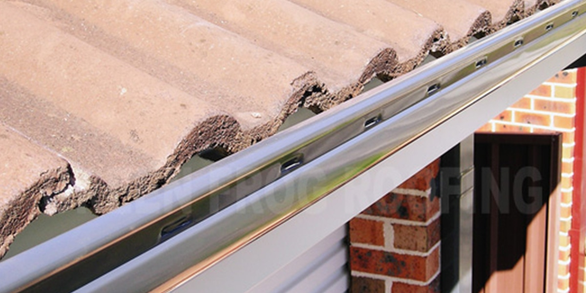 Guttering Installation Process Green Frog Roofing Green