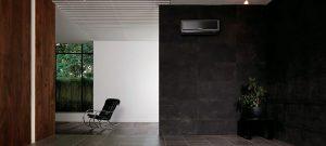 Mitsubishi split system air conditioning