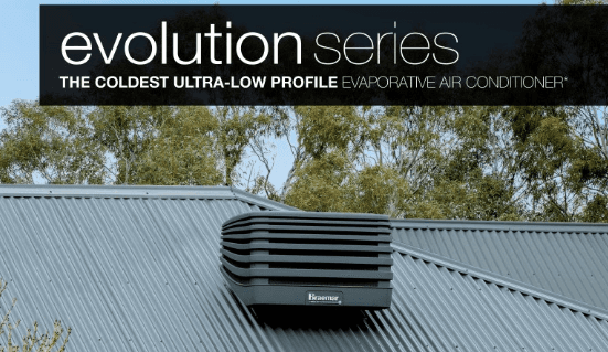 Braemar Evolution Series Evaporative Cooling