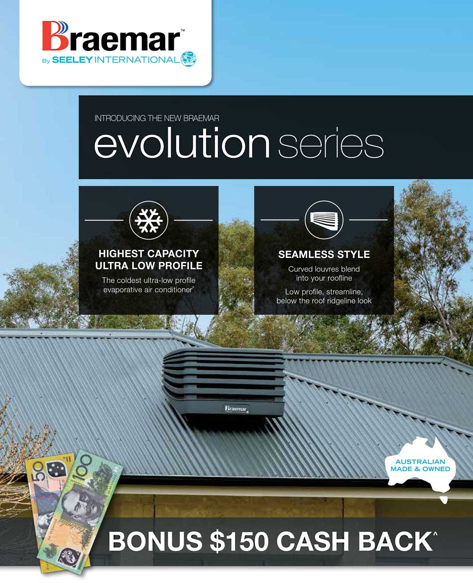 braemar evolution evaporative cooling