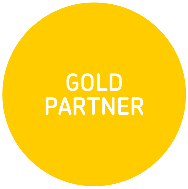 xero logo gold partner single