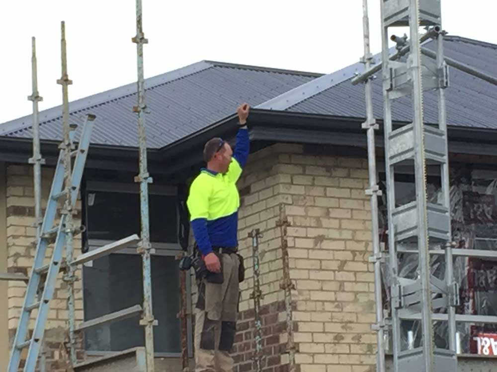roof restoration process adelaide