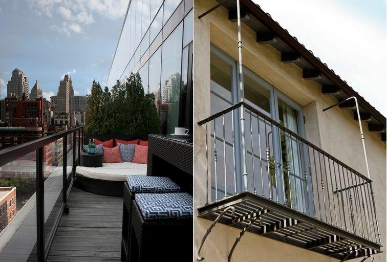 balcony and verandah