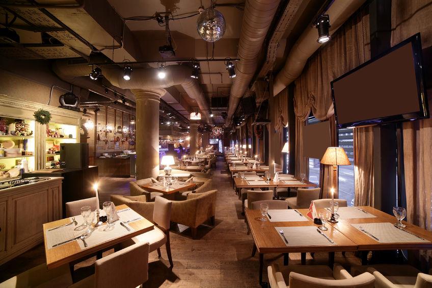 32525002 - beautiful brand new european restaurant in downtown