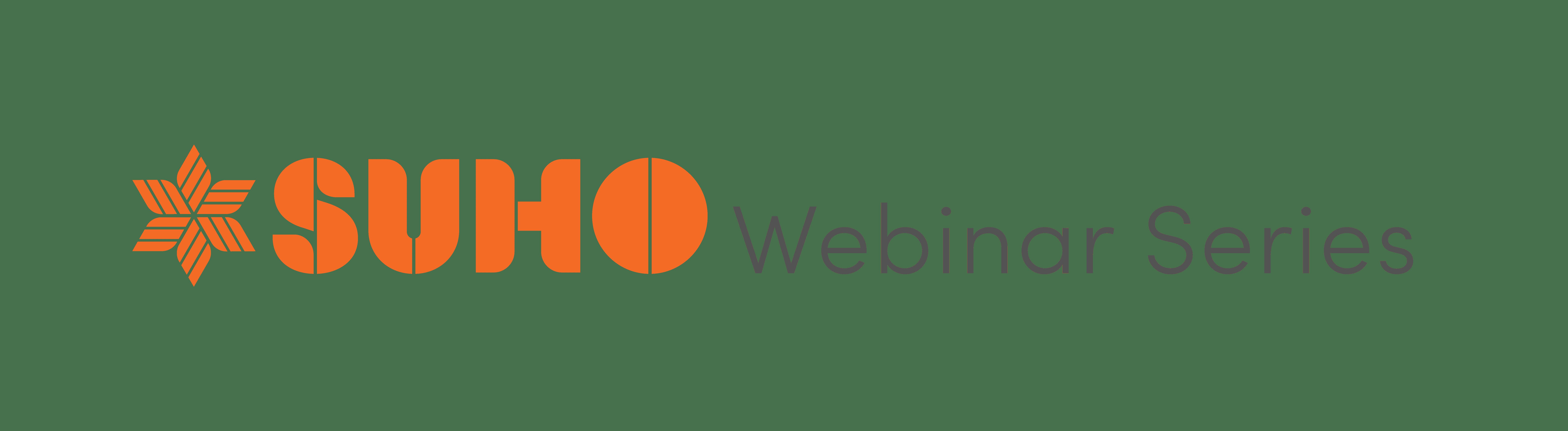 SUHO Webinar Series Logo