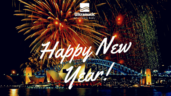 Happy New Year from Ultramatic Adjustable Beds