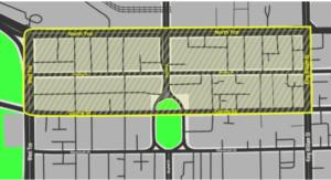 public precinct - map