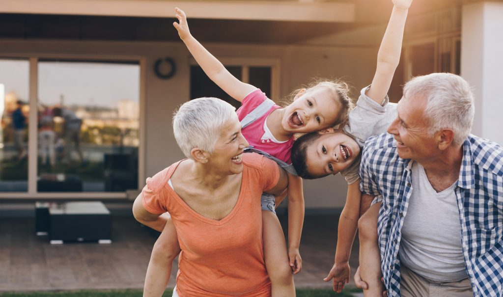 grandparents rigths to see their children