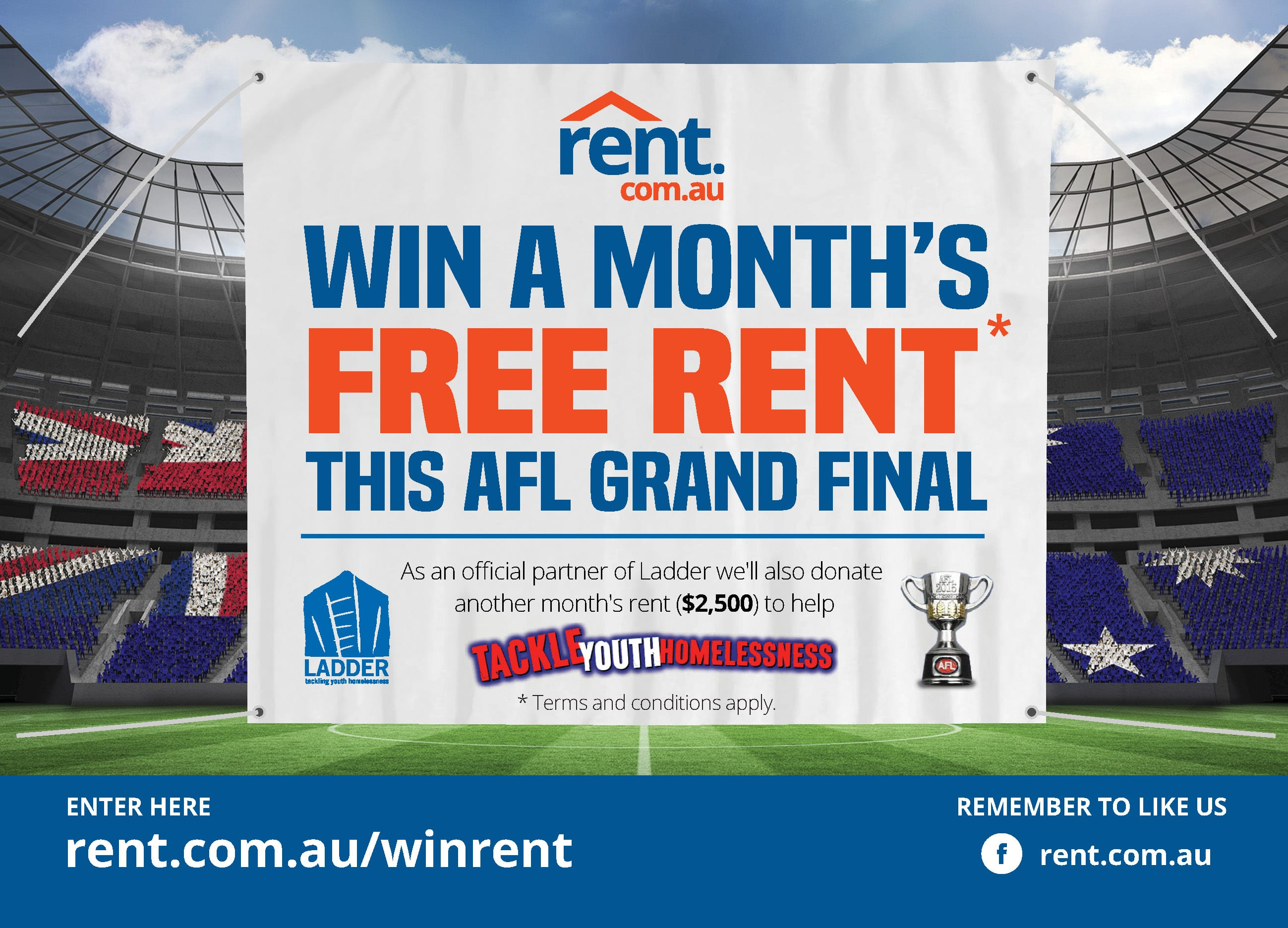 Photo of Australia's 7 million Renters Urged to 'Tackle' Youth Homelessness for  2015 AFL Grand Final