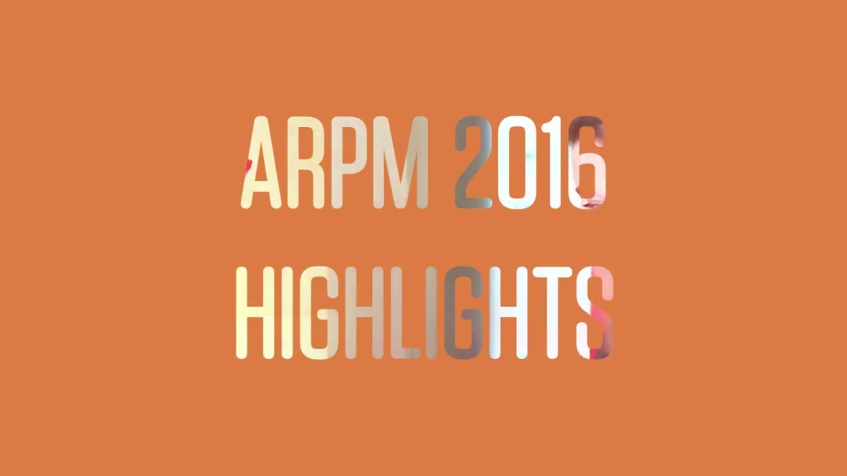 Photo of ARPM 2016 Speakers: Just the Highlights