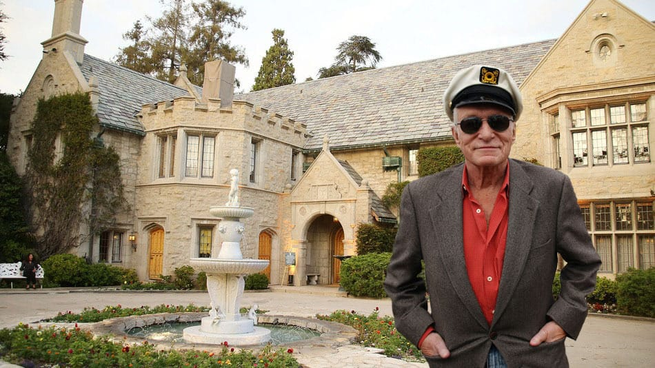 Photo of Video of the Week – Playboy mansion post-sale marketing