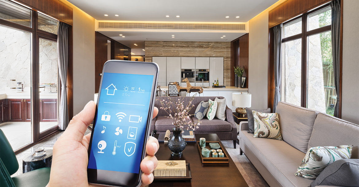 2018 the year of the smart home. Black Bedroom Furniture Sets. Home Design Ideas