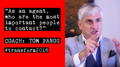 Photo of Tom Panos: As a real estate agent, who are the key people to speak to?