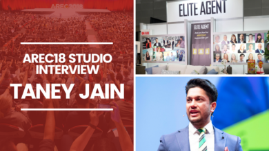 Photo of AREC 2018 Feature Interview: Taney Jain with Claudio Encina