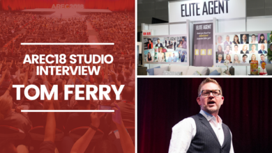 Photo of AREC2018 Feature Interview: Tom Ferry with Claudio Encina