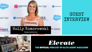 Photo of Episode 54: Holly Komorowski from home.byholly talks stand-out property marketing (that wins awards!) and how you can too.