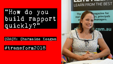 Photo of Charmaine Keegan: How do you build rapport quickly?