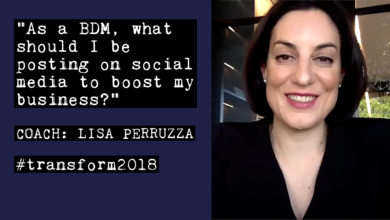 Photo of Lisa Perruzza: What should a BDM be posting on social media?