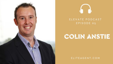 Photo of Episode 65: Colin Anstie with the latest on Social Media for real estate agents including tips on how to go viral