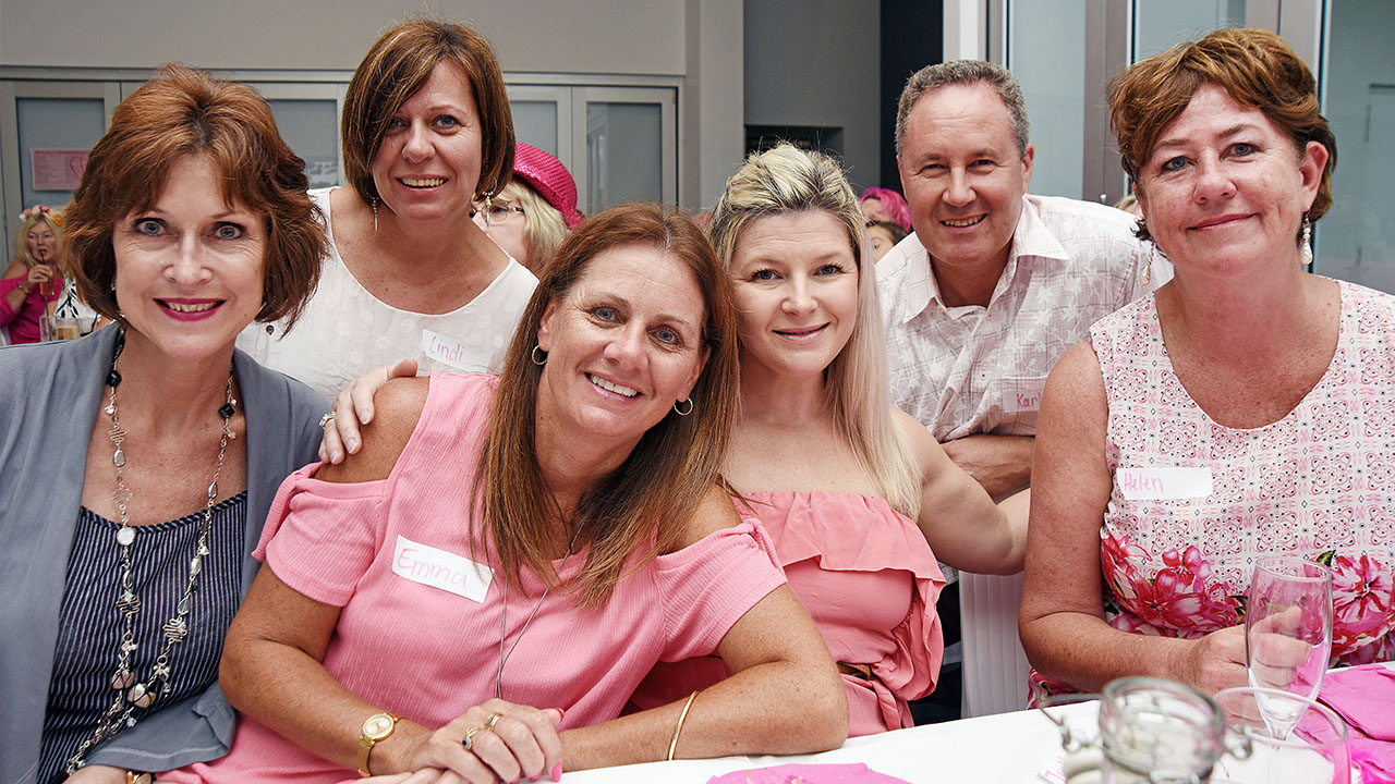 October and GC's Lambert family encourage breast cancer awareness
