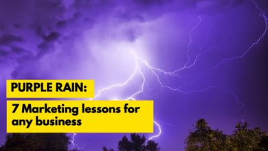 Photo of Purple Rain: 7 marketing lessons for any business
