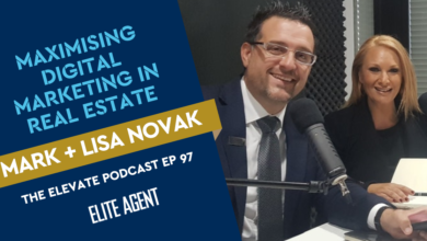 Photo of How To Maximise Digital Marketing For Real Estate: Lisa and Mark Novak – Episode 97