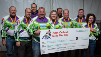 Photo of Agent helps deliver $173k for charity in Outback Postie Ride