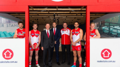 Photo of Sydney Swans and realestate.com.au announce major partnership