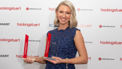 Photo of Samantha McCarthy crowned hockingstuart's best for the third year in a row