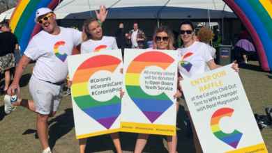 Photo of Coronis marched with pride in support of diversity