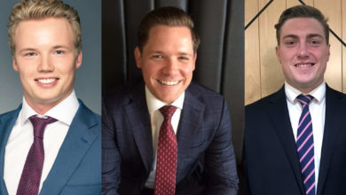 Photo of Three new agents appointed to Knight Frank's Brisbane office leasing team