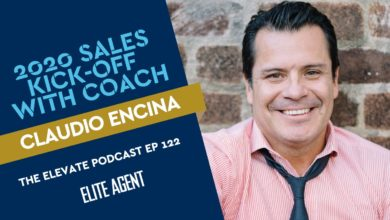 Photo of 2020 Kick-off with real estate sales coach Claudio Encina