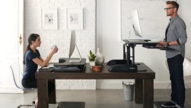 Photo of Take a stand for your health: VariDesk