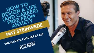 Photo of Mat Steinwede: How to design a career (and life!) in real estate that's free from anxiety