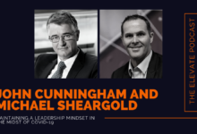 Photo of Maintaining a leadership mindset in the midst of COVID-19 with Michael Sheargold and John Cunningham