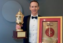 Photo of Hamish Mill named 2020 Domain Golden Gavel Champion