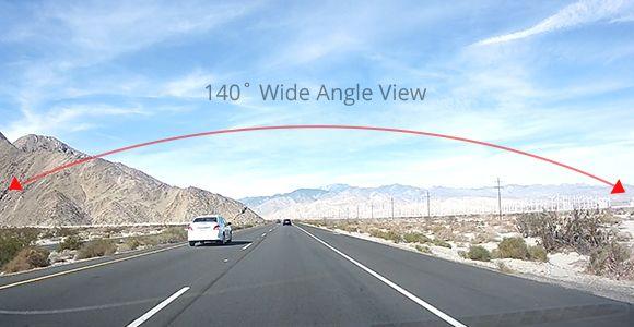 140'° Wide Angle View
