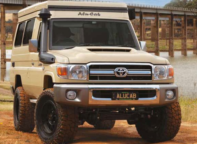 Alu-Cab Ultimate Overland Products